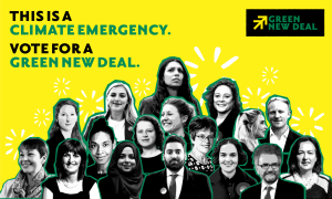 general elections green new deal team